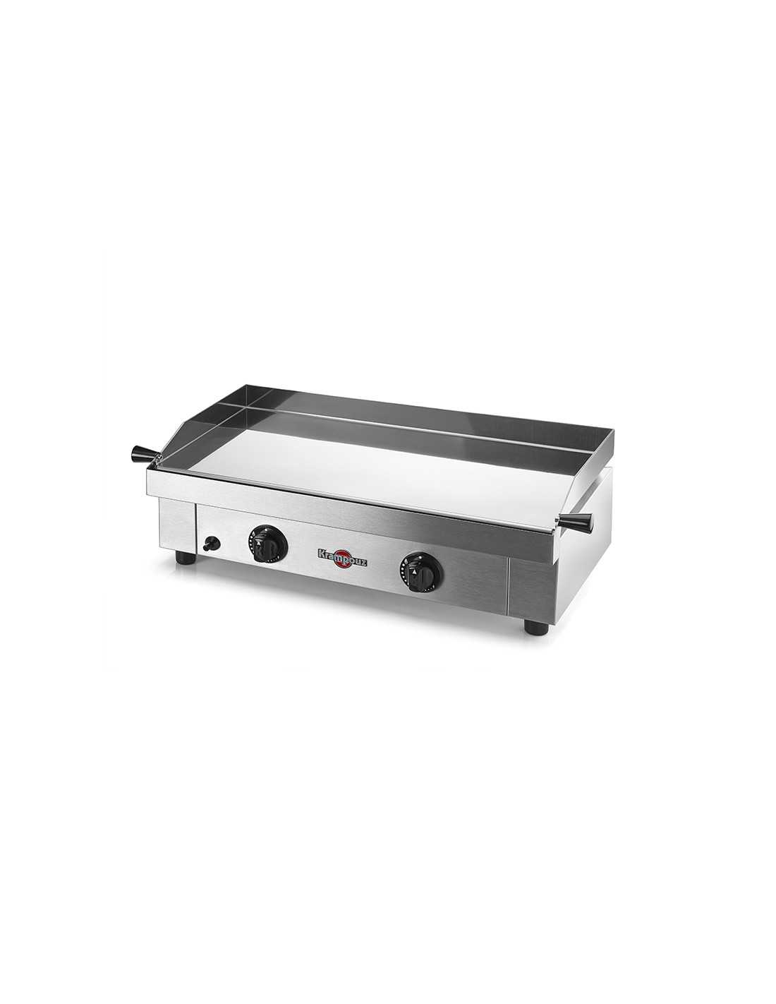 Barbecue Gaz Sans Plancha plancha gaz inox - saveur - 64x34